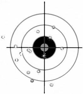 Target CZ-75B 15 Yds