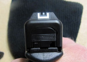 Glock 19 Sight Picture