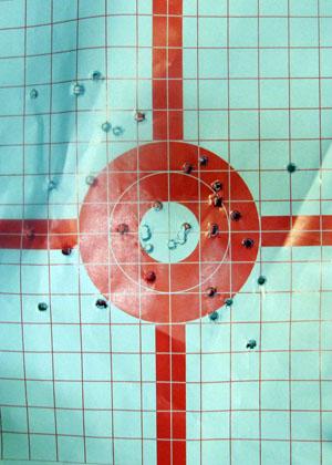 Kimber Solo Target  Nice Group 15 Yards