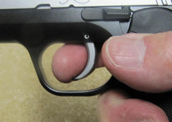 Kimber Solo Trigger Finger