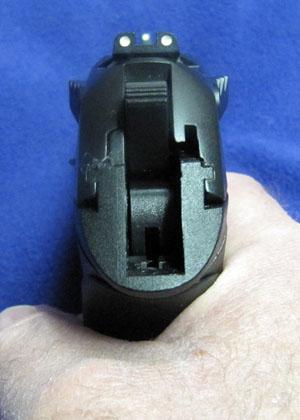 Beretta PX4 Storm 3 Dot Sight Picture