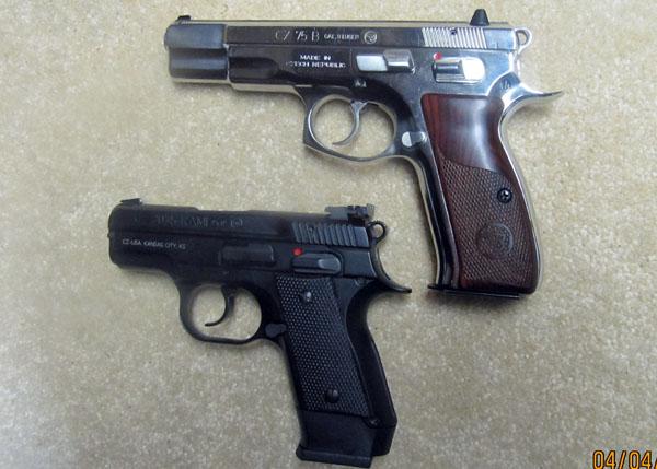 CZ 2075 Rami 9mm and CZ-75B