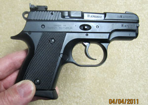 CZ 2075 Right Side View