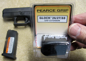 Pearce Grip Extension Glock 26