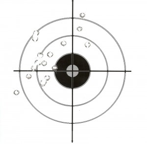 SIG Sauer P226 First Groups at 15 Yards