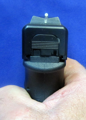Glock 21 Big Dot Sight Picture