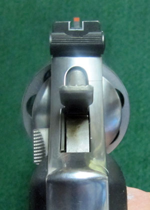 Smith Wesson 686 Sight Picture