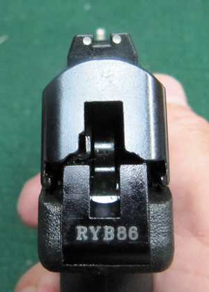 PF9 3 Dot Sight Picture