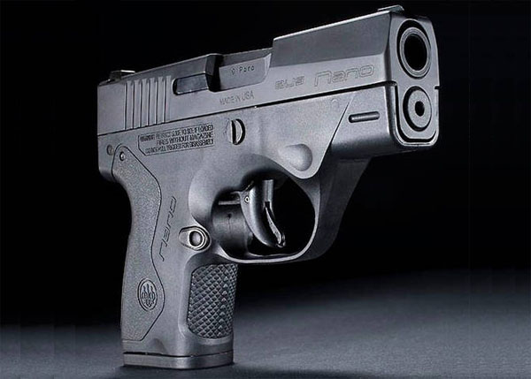 Beretta Nano BU 9 - 9mm Subcompact