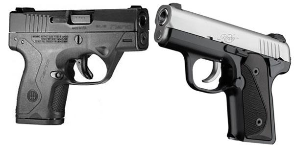 Beretta Nano vs Kimber Solo