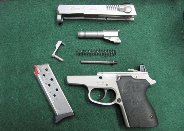 Smith & Wesson CS9 Disassembled