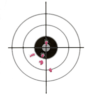 Smith & Wesson CS9 Group 7 Rds at 7 Yds