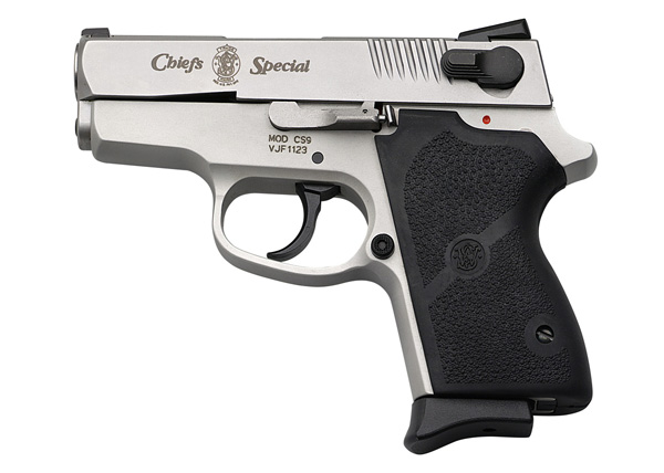 Smith and Wesson CS9 Chiefs Special 9mm Pistol Review