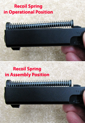 Recoil Spring Position
