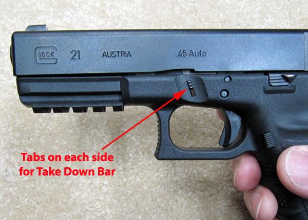 Take Down Bar Tabs