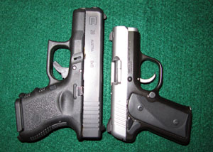 Kimber Solo vs Glock 26 Length