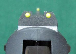 Sig Sauer Mosquito Sight Picture