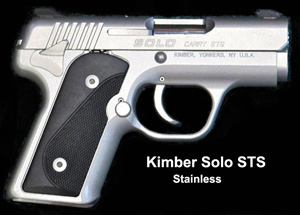 Kimber Solo STS Stainless 9mm