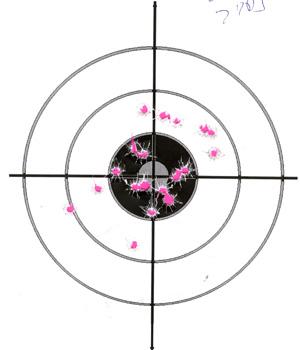 Ruger LC9 after trigger mod 20rds at 7yds