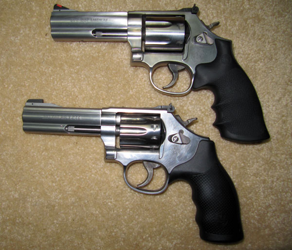 Smith Wesson 686P and 617