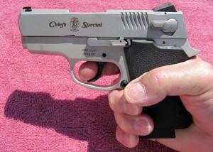 S&W CS45 in Hand
