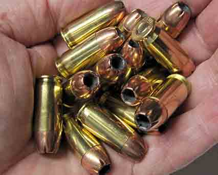Handful of 14 Rounds of 45 ACP