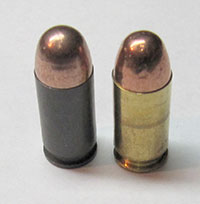 Steel Case and Brass-Case 45 ACP