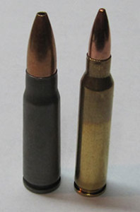 Steel Case Wolf Classic 7.62x39 and Brass .223
