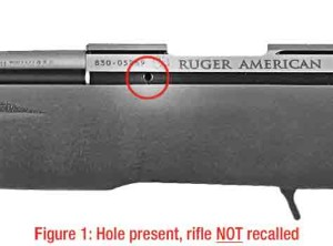 Ruger 10-22 requires a Vent Hole