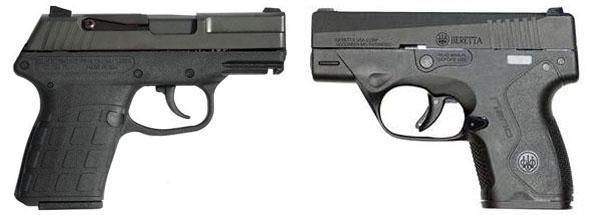 Beretta Nano vs Kel-Tec PF9